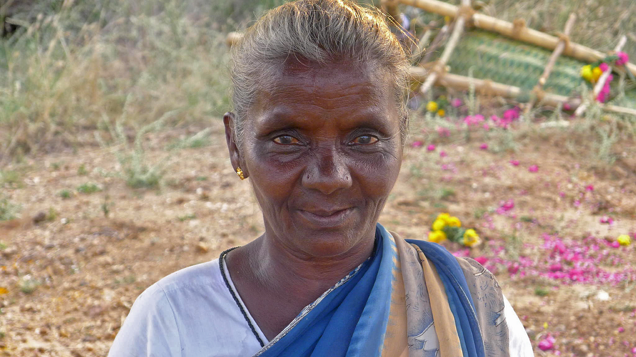 Meenakshi - the first woman cremation worker in India